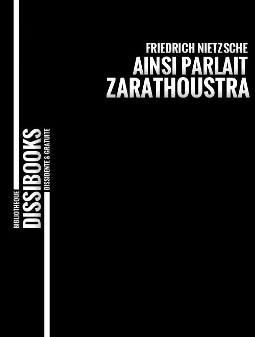 Ainsi parlait Zarathoustra-NIETZSCHE