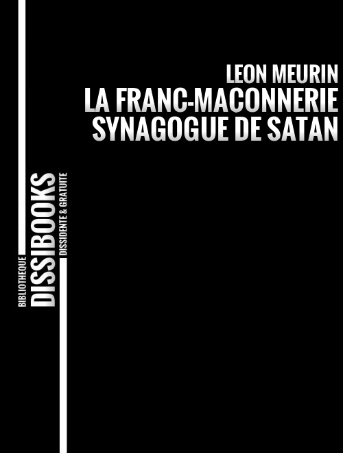 COUV-LAFRANCMACONNERIESYNAGOGUEDESATAN-LEONMEURIN